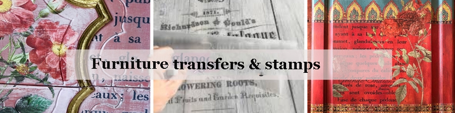 Furniture Transfers, Stamps & Moulds