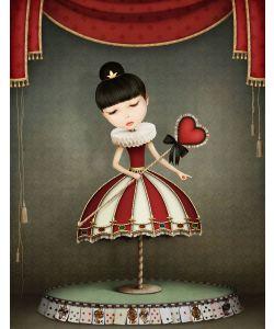 Fairy Queen - Mint by Michelle Decoupage papier-A1