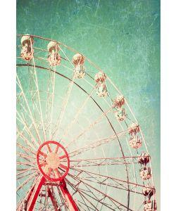 Ferris Wheel - Mint by Michelle Decoupage papier-A1
