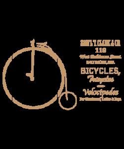 Sjabloon Vintage 05 - Bicycle 20cmx30cm