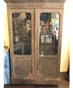 Rusty metal Armoire *SOLD*