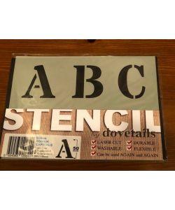Sjabloon Letters & cijfers - Lettertype