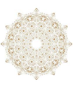 Sjabloon Mandala 3 50x50cm