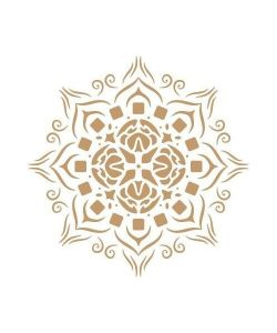 Mandala sjabloon