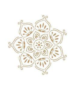 Sjabloon Mandala 6 50x50cm