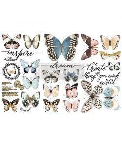 Re-Design with Prima Papillon Collection Decor Transfers