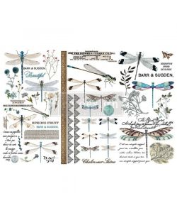 Redesign Décor Transfers – Spring Dragonfly