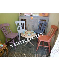 Set van 4 boerenstoelen **SOLD**