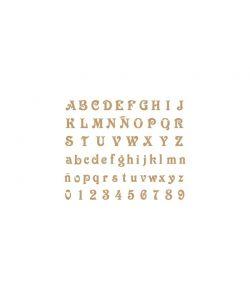 Sjabloon Letters & cijfers 2