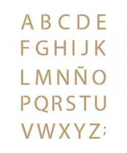 Sjabloon Letters & cijfers 6