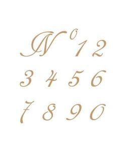 Sjabloon Letters & cijfers 4