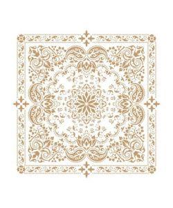Sjabloon Mandala 8 50x50cm