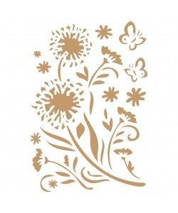 Sjabloon Bloemen & Vlinders