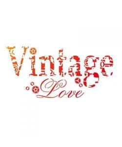 Sjabloon Vintage Love